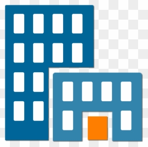 Structure Clipart Office Building Company Icon Flat Design Free