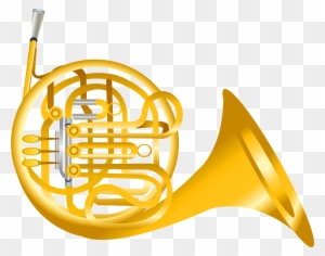 Image For French Horn Music Clip Art French Horn Cartoon Free