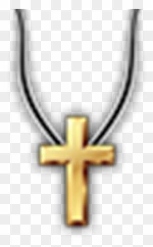 Golden Cross Necklace Hd Transparent Roblox T Shirt Cross Free