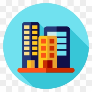 Office Block Free Icon Office Building Flat Icon Free