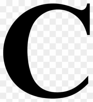 Letter Initial C Clip Art Vector Circle Design Png Free