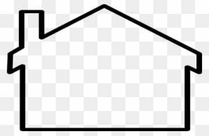 House Outline Clipart Black And White Transparent Png