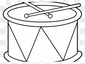 Drums Coloring Page Pot De Yaourt Dessin Free Transparent Png