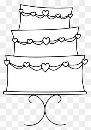Cake Black And White Wedding Cake