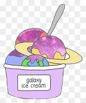123 1231471 galaxy planet cute icecream tumblr foodfreetoedit kawaii galaxy ice cream