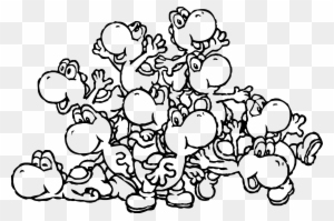 Coloring Pages Tremendous Yoshi Coloring Pages Picture Yoshis