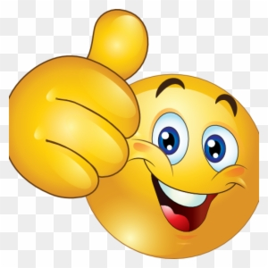 Thumbs Up Clipart Free Thumbs Up Happy Smiley Emoticon - Smiley Face Thumbs Up @clipartmax.com