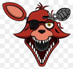 Transparent Foxy Sticker Foxy Fnaf Drawing Free Transparent Png