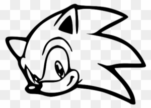 Sonic Head Black Sonic The Hedgehog Head Free Transparent Png Clipart Images Download