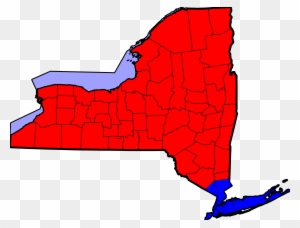 Proposed Map Of Long Island And New York City As Independent State