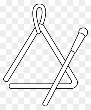 Clip Art Triangle Coloring Pages Breadedcat Printable Triangle