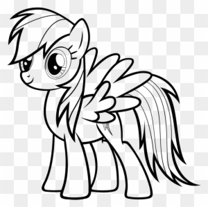 Easy my little pony coloring pages ~ Animation Rainbow Drawing Clip Art - Kawaii Rainbow - Free ...