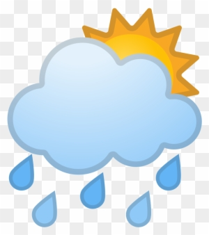 Sun And Rain Stickers | Redbubble