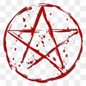 Blood Pentagram Roblox Blood Pentagram Free Transparent Png