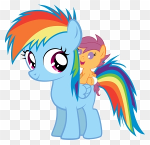 My Little Pony Scootaloo And Rainbow Dash Kiss Rainbow Dash And Her Sister Free Transparent Png Clipart Images Download I did the hairstyles and their skin. my little pony scootaloo and rainbow