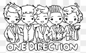Coloring Pages One Direction Free And