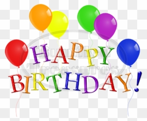 happy birthday words clipart transparent png clipart images free