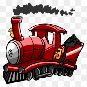 Trains Cartoon Trains With Smoke Free Transparent Png Clipart