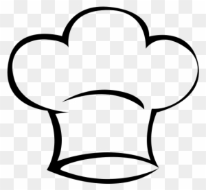 Hat Svg Bakers - Chef Hat Icon Png - Free Transparent PNG