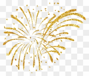 happy new year fireworks clipart gold fireworks white background free transparent png clipart images download