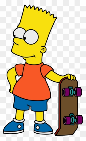 The Simpsons Clipart Bart Simpson Bart Simpson Easy Drawing Free Transparent Png Clipart Images Download