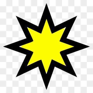 Christmas Star Clipart 16, - Star Outline