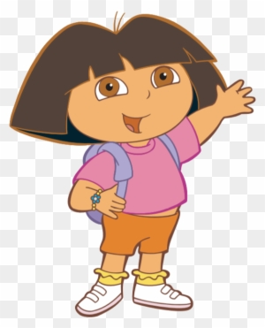 Dora The Explorer Are Sitting Coloring Pages Black And White Picture Dora The Explorer Free Transparent Png Clipart Images Download