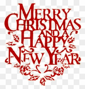 merry christmas and happy new year clip art free merry christmas and happy new year words