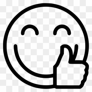 Thumb Signal Emoji Ok Clip Art - Thumbs Up Emoji Png ... (300 x 300 Pixel)