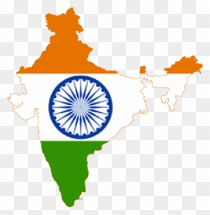 India Map Flag.Indiagraphic Map Of India With Flag Free Transparent Png Clipart