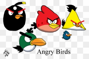 angry birds( cartoons& ndash; printable coloring pages