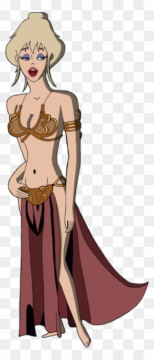 Renthegodofhumor Holli Would As Slave Leia By Renthegodofhumor Holli Would Free Transparent Png Clipart Images Download But such awesome animation, backgrounds, and music. renthegodofhumor holli would as slave