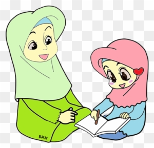 Muslim Cartoon Child Illustration - Gambar Kartun Anak ...