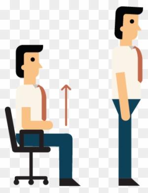 sit down clip art