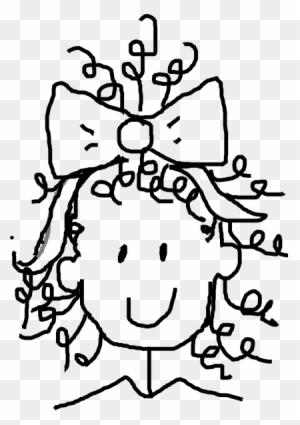 Curly Hair Clipart Transparent Clipart Images Free Download