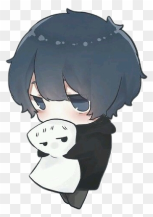 report abuse dark blue haired anime boy free transparent png