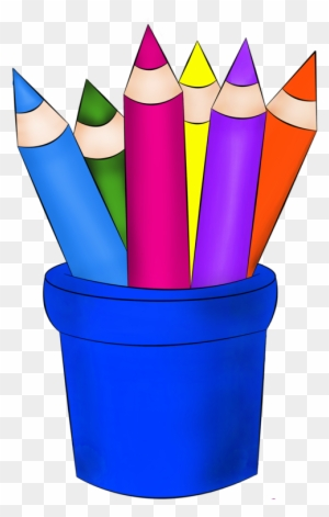 Crayons De Couleurs,articles D Ecole Plus - Creative Pencil - Free  Transparent PNG Clipart Images Download