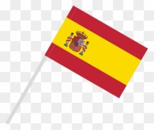 Flags Clipart Spain Spanish Flag On Pole Free
