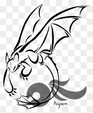 Clipart Dragon Tattoo Dragon Black And Red Simple Free