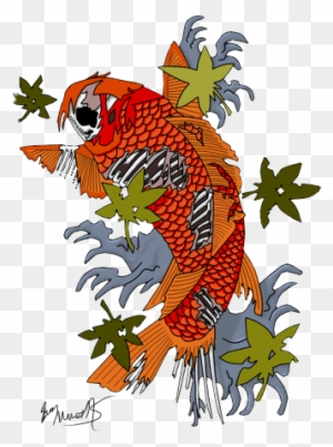 Hd Fish Tattoos Clipart Traditional Koi Fish Art Free