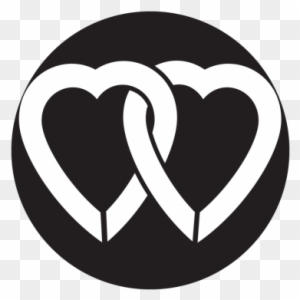 Two Hearts Metal Gobo - Happy Valentines Day 2018