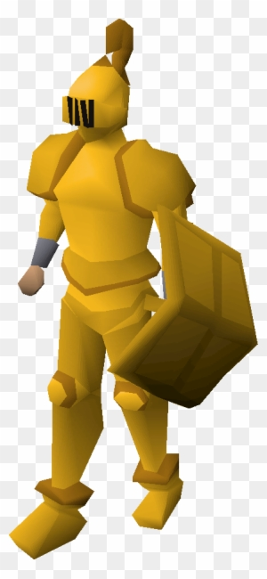 Gilded Equipment Runescape Gold Armor Free Transparent Png