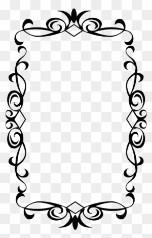 Clipart Frames And Borders Black And White, Transparent PNG Clipart ...