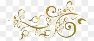 Wedding Invitation Flower Floral Design Gold Design For Invitation Png Free Transparent Png Clipart Images Download