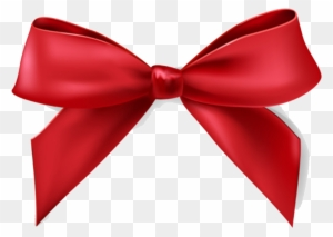 Christmas Red Bow Transparent Png Clip Art Image Christmas - Christmas Bows  - Free Transparent PNG Clipart Images Download