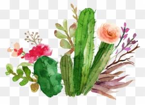 Wedding Invitation Paper Flower Textile Succulent Plant Watercolor