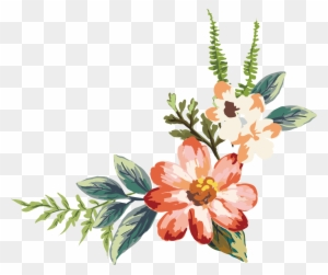 Flower Watercolor Painting Drawing Flowers Branch Watercolor Png
