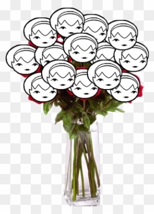 Big Bouquet Of Roses Tumblr Just A Big Rose Free Transparent Png