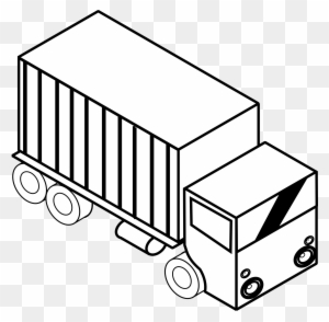 Truck Clipart Black And White Transparent Png Clipart Images Free Download Clipartmax