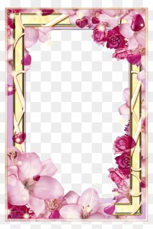 Floral Frames For Photoshop